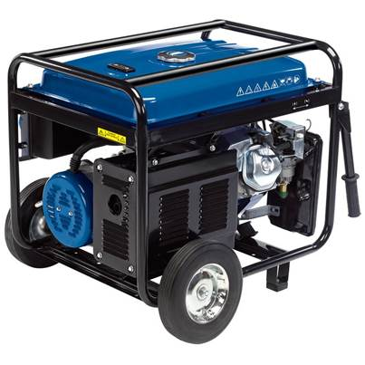 Draper Petrol Generator with Wheels (2.5kVA/2.5kW)
