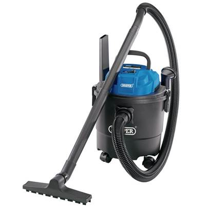 Draper 15L 1250W 230V Wet & Dry Vacuum Cleaner