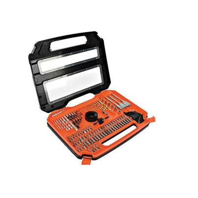 Black & Decker A7154 Accessory Set, 100 Piece