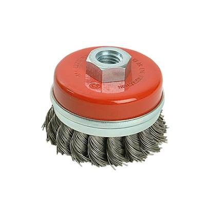 Black & Decker Twist Knot Wire Cup Brush 65mm M14