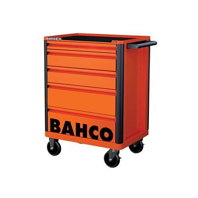 Bahco 1472K5 B Tool Trolley, 5 Drawer