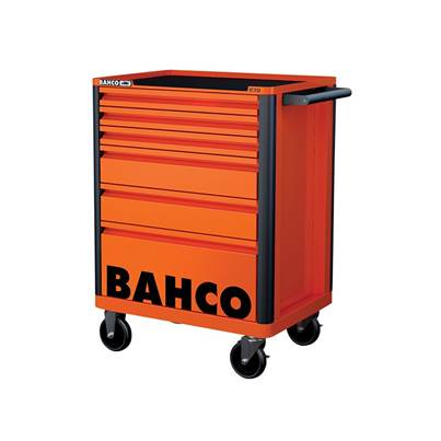 Bahco 6 Drawer B Tool Trolley K Orange