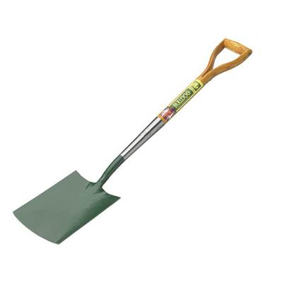 Bulldog Premier Wooden Handle Garden Spade