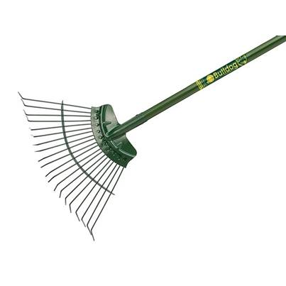 Bulldog Evergreen Lawn Rake 48in Aluminium Shaft