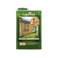 Wood Preserver Treatment