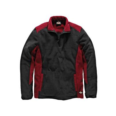Dickies Two Tone Micro Fleece Red/Black