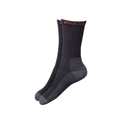 Dickies Industrial Work Socks  Black (Pack 2)