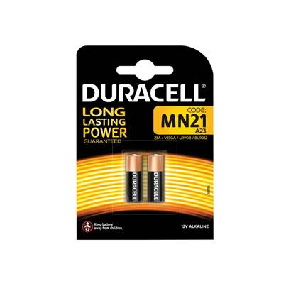 Duracell MN21 A23 LRV08 Battery (Pack 2)