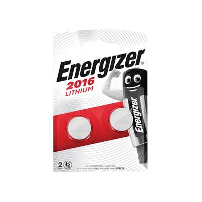 Energizer CR2016 Coin Lithium Battery