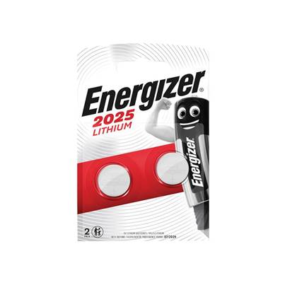 Energizer CR2025 Coin Lithium Battery