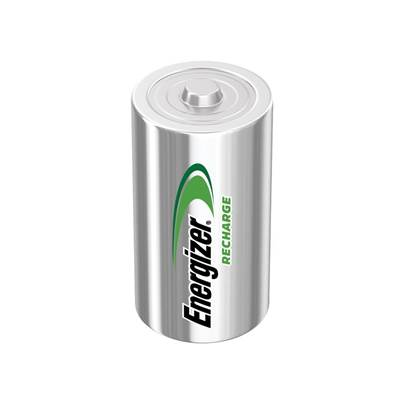 Energizer D Cell Rechargeable Power Plus Batteries RD2500 mAh Pack of 2