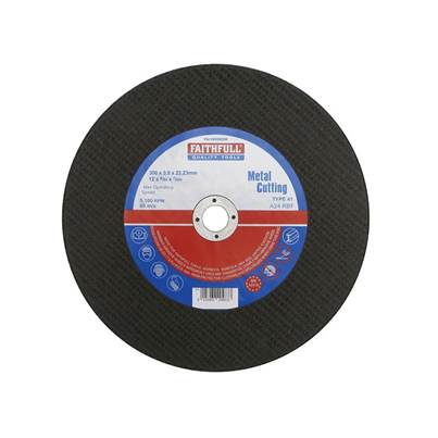 Faithfull Metal Cut Off Disc 300 x 3.5 x 22mm