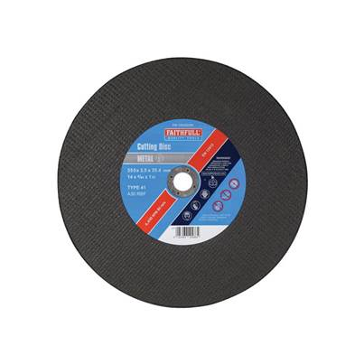 Faithfull Metal Cut Off Disc 350 x 3.5 x 25mm