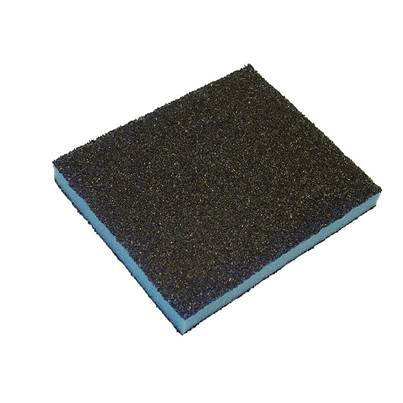 Faithfull Contour Sanding Pads Assorted 120 x 100 x 13mm (Pack 3)