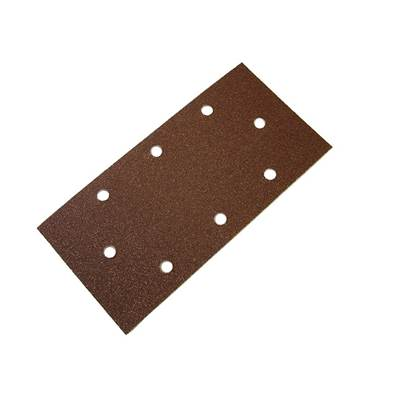 Faithfull 1/3 Sanding Sheet B/D Perforated Assorted (Pack 5)