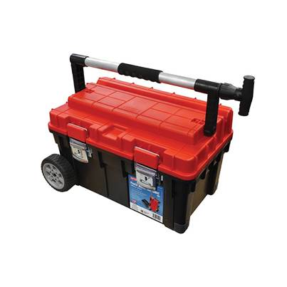 Faithfull Plastic Mobile Tool Chest 23in