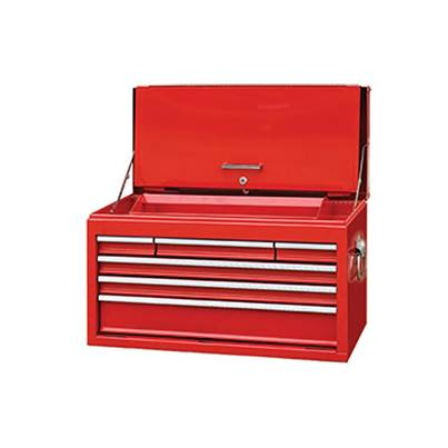 Faithfull Toolbox  Top Chest Cabinet 6 Drawer