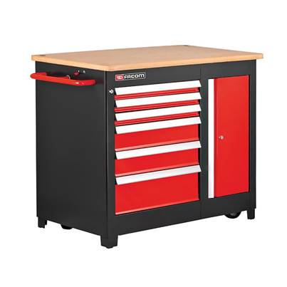 Facom JET 6 Heavy-Duty Mobile Workbench