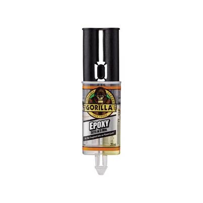 Gorilla Glue Gorilla 5 Min 2-Part Epoxy Syringe 25ml