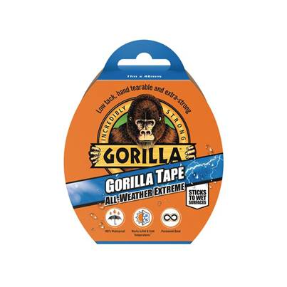 Gorilla Glue Gorilla Tape® All-Weather Extreme 48mm x 11m Black