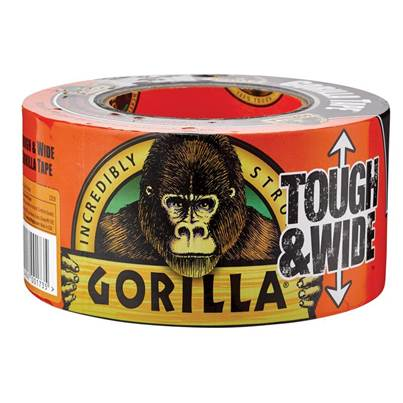 Gorilla Glue Gorilla Tape® Tough & Wide 73mm x 27m Black