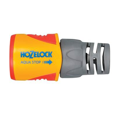 Hozelock 2055 Aquastop Plus Hose Connector for 12.5 - 15mm (1/2 - 5/8in) Hose