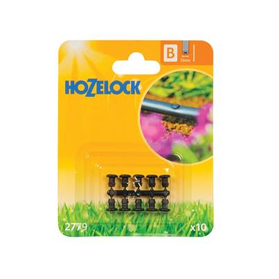 Hozelock Blanking Plug 13mm (10 Pack)