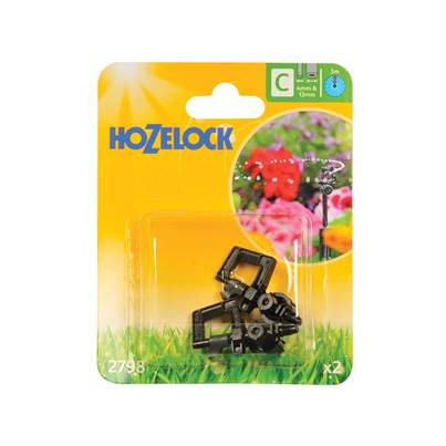 Hozelock Mini Sprinkler 4mm/13mm (2 Pack)