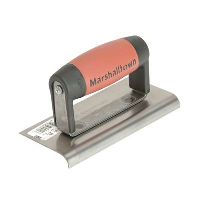 Marshalltown M36D Cement Edger, Straight End Durasoft® Handle 6 x 3in