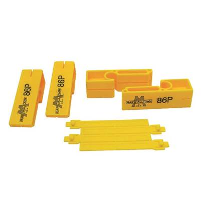 Marshalltown 86P Plastic Line Blocks (Pack 2)
