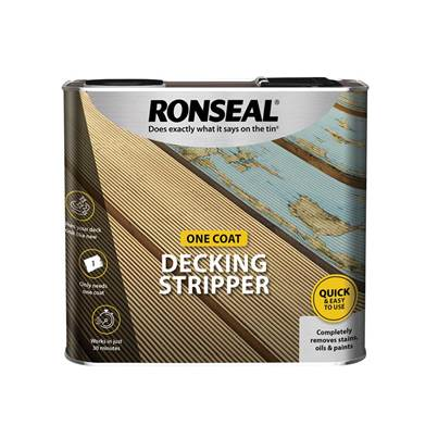 Ronseal Decking Stripper 2.5 Litre