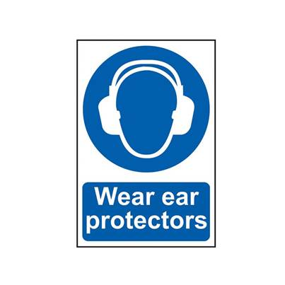 Scan Wear Ear Protectors - PVC 200 x 300mm