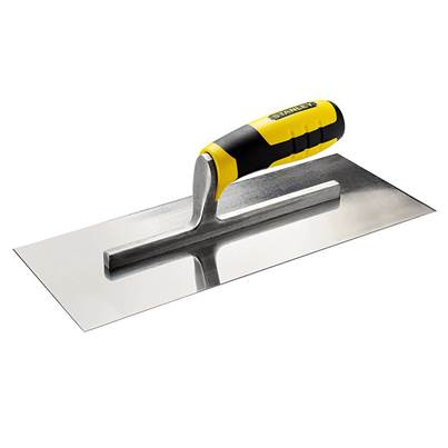 Stanley Tools Finishing Trowel Bi-Material Handle 13 x 5in
