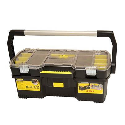 Stanley Tools Toolbox With Tote Tray Organiser