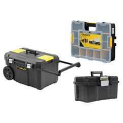 Rolling Chest, Toolbox & Organiser Bundle