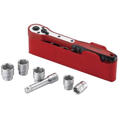 Teng M1212N1 Basic Socket Set of 12 1/2in Drive