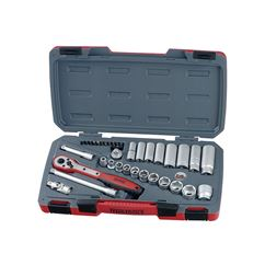 T3835AF Socket Set of 35 A/F 3/8in Drive