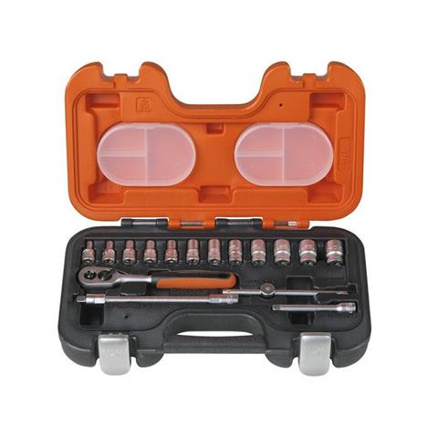 XMS Bahco S160 1/4in Socket Set 16 Piece