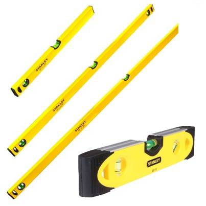 Stanley Tools Stanley Box Level Set of 4