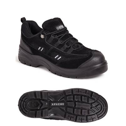 Apache Safety Trainer With Mid-Sole & Scuff Trim