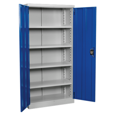 Sealey Tools Industrial Cabinet 4 Shelf 1800mm