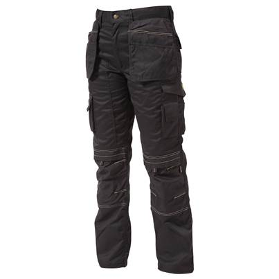 Apache Holster Trousers, Black