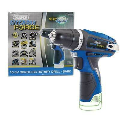 BTS Draper Stormforce 10.8V Cordless Rotary Drill Body Only