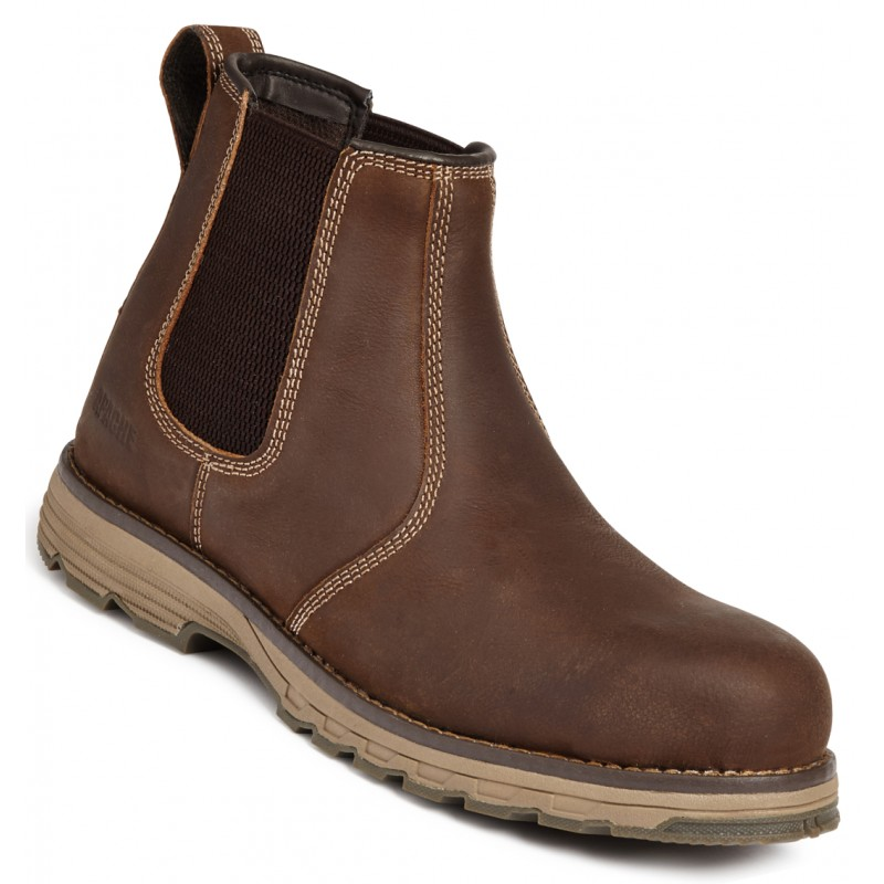 Apache Flyweight Lightweight Brown Safety Dealer Boot Water Resistant NEW STYLE