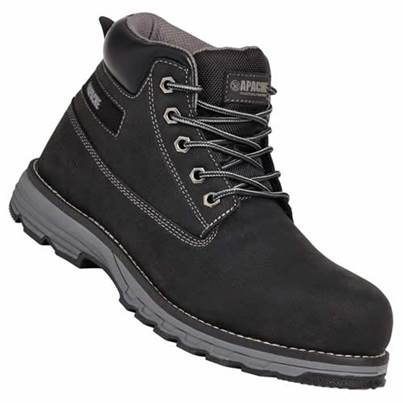 Apache Flyweight Lightweight Safety Boot Black