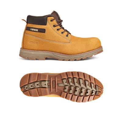 Apache Flyweight Lightweight Safety Boot Wheat