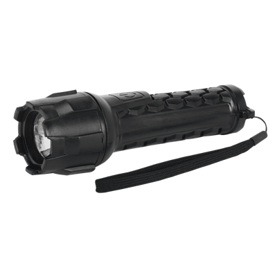 Sealey Tools Rubber Waterproof Torch 1W CREE LED