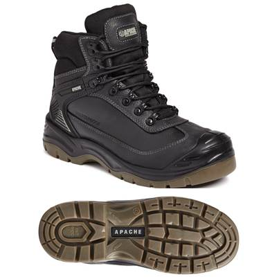 Apache Ranger Waterproof All Terrain Black Boot