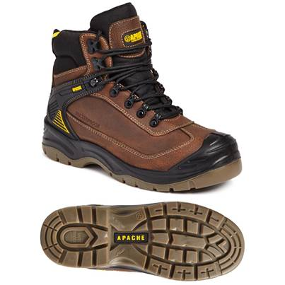 Apache Ranger Waterproof All Terrain Brown Boot