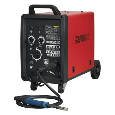 Sealey Tools Professional MIG Welder 200Amp 230V with Binzel Euro Torch